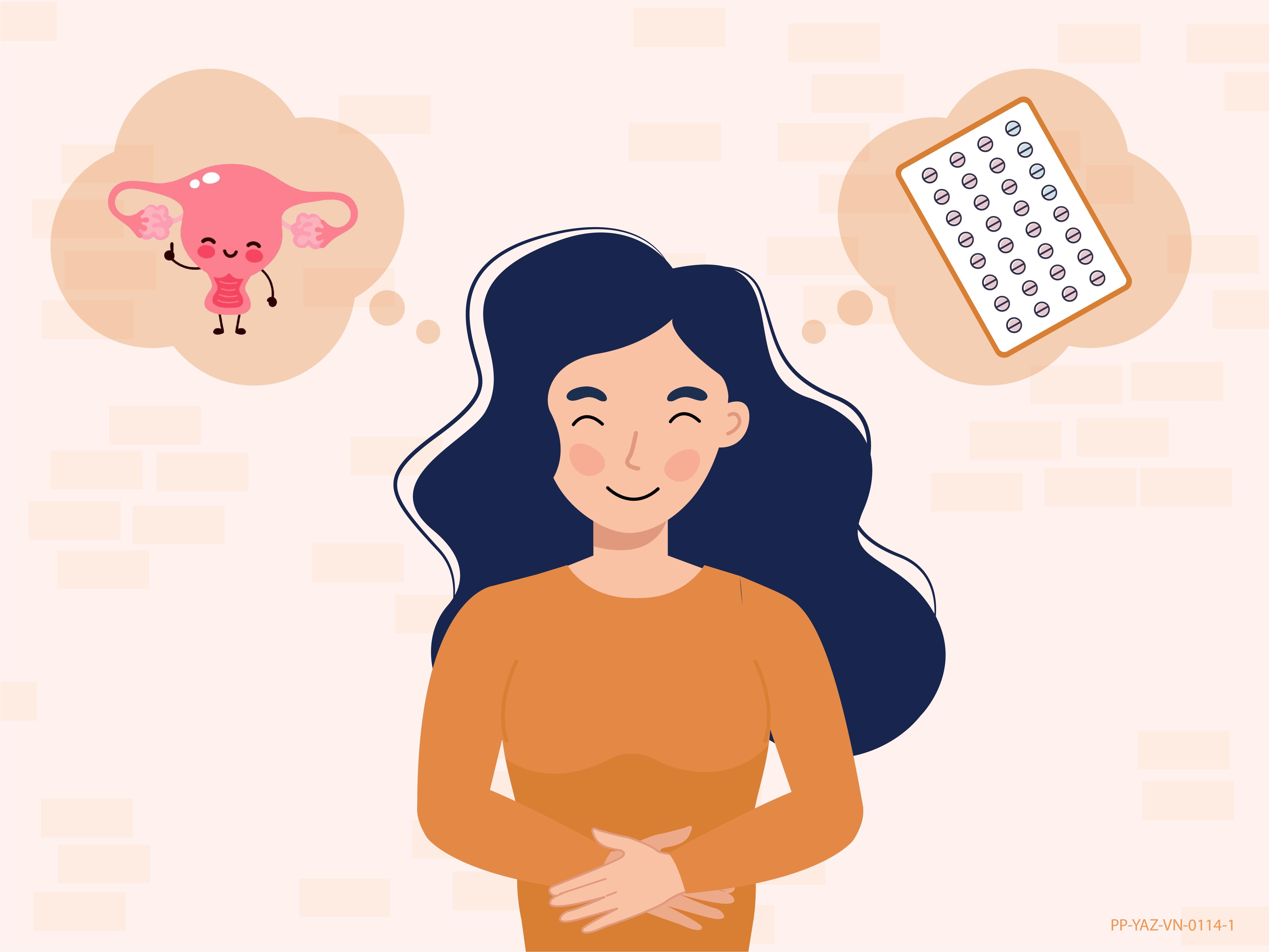 3 lợi ích cho sức khỏe khiến hội con gái không nên bỏ qua Viên tránh thai kết hợp